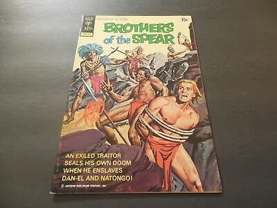 Brothers Of The Spear #3 Dec 1972 Bronze Age Gold Key Comics             ID:7659