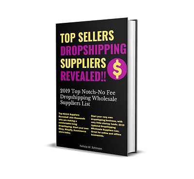 DROPSHIPPING BOOK LIST OF USA WHOLESALE SUPPLIERS No Fee Vendors NEW RELEASE!!