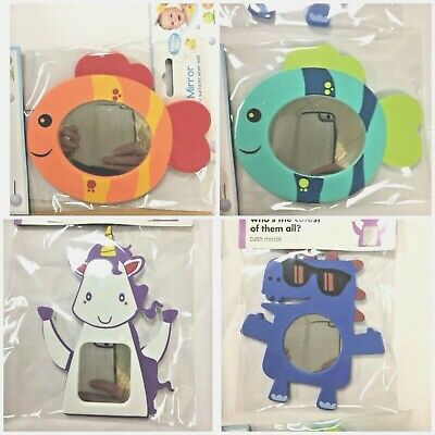 BATH MIRROR NEW* ANIMAL SHAPED,SAFETY,Sensory,Baby,Child,Autism.