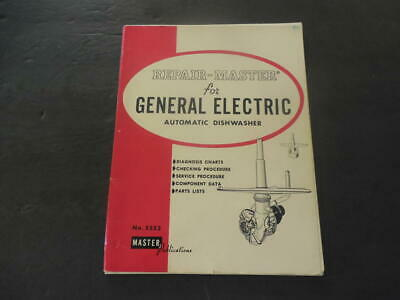 Repair Master For General Electric Automatic Dishwasher #5552 1977      ID:34803