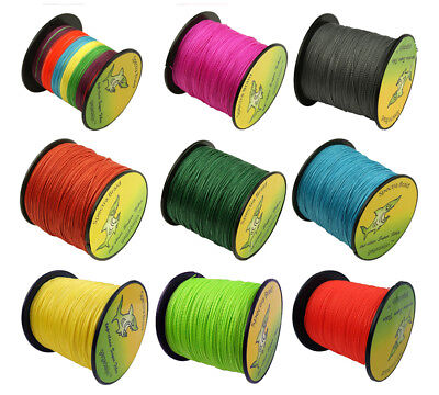 500M Super Strong Colorful Dyneema Spectra Extreme Sea Braided Fishing Line