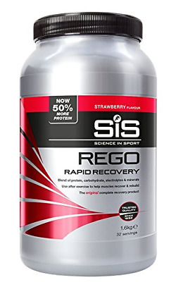 Science in Sport Rego Rapid Recovery Protein Shake, Strawberry, 1.6 kg, 32
