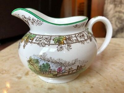 Vintage Spode Copeland Byron Creamer Pitcher Transferware Made In England