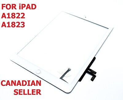 White iPad Air 2017 A1822 A1823 Touch Screen Digitizer Assembly W/ Home Button