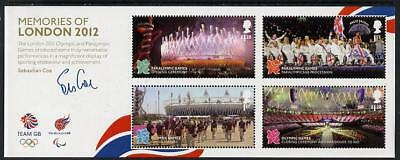 UK GB 2012 London Olympic Games Sports Paralympic Memories Stadium MS MNH