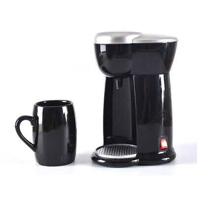 DMWD 140ML Mini American Coffee Machine Automatic Drip Coffee Maker Single Cup