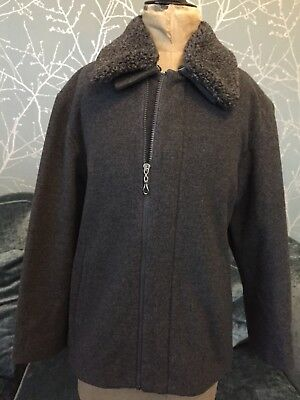 young versace girls Wool & Cashmere Mix Jacket