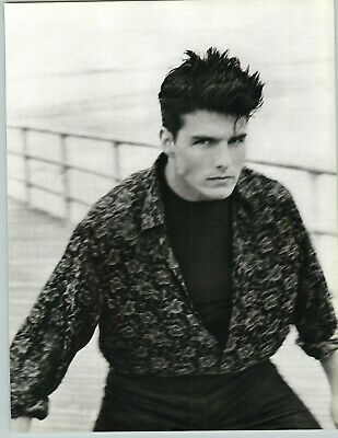 1986 1988 Herb Ritts Tom Cruise Abstract Coney Island Portrait Art Photo 16X20