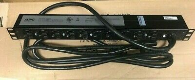 APC AP9563 Rack Power Distribution Unit 16A 201A 120V 10 Outlets with mounting