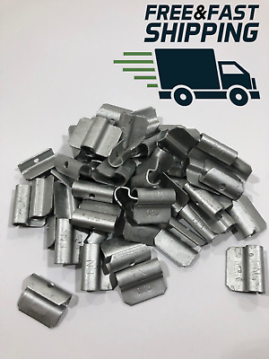 Wheel Balancing Weights FN Type Coated Clip On .25 oz 50 pieces FREE SHIP💵