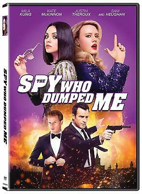 "The Spy Who Dumped Me DVD 2018 Mila Kunis Kate McKinnon ""NEW"""
