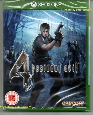 Resident Evil 4 HD  'New & Sealed' *XBOX ONE (1)*