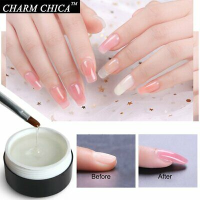 CHARM CHICA UV Builder Gel Extension Soak Off Poly Gel Nail Polish Top Base 15ml