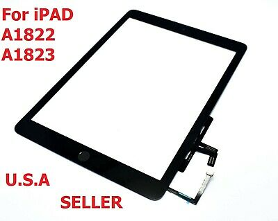 Black iPad Air 2017 A1822 A1823 Touch Screen Digitizer Assembly W/ Home Button