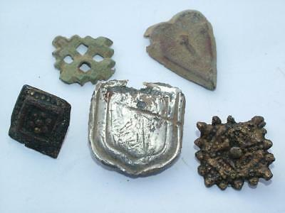 Metal Detector Finds - Pendant Mounts & Belt Fittings