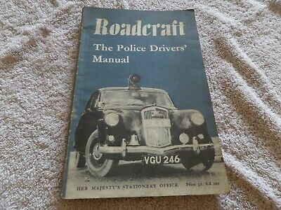 Roadcraft the Police Drivers' Manual - Various. 1960-01-01  HMSO rare collector