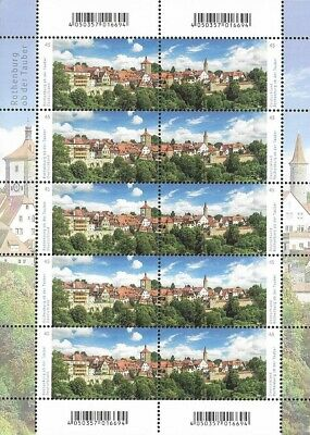 Bund Mi.Nr. 3454-3455** (2019) postfr. (KB)/Deutschlands Panoramen: Rothenburg