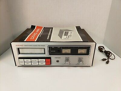 Vintage 8 Track Recorder Craig H260 Eight Stereo