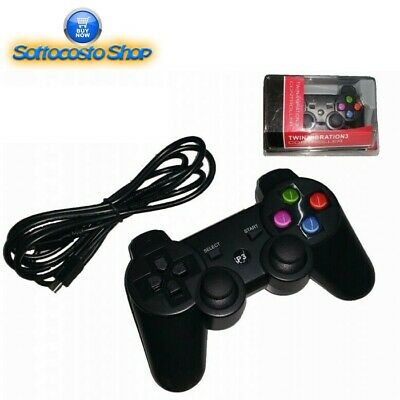 Controller Playstation Joystick Pad Compatibile Per Ps3 E Pc Con Cavo Usb