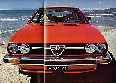 "ALFA ROMEO Alfasud ""Sprint Veloce"" 1.3 / 1.5 - 1981 - French sales brochure"