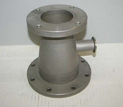 """High Vacuum Research ISO63/ISO100 Flange For Edwards iQDP80/QDP80  """"Nice"""""""