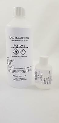 500ml 100% ACETONE NAIL POLISH REMOVER UV/LED GEL SOAK OF GEL REMOVER CAP/SPRAY