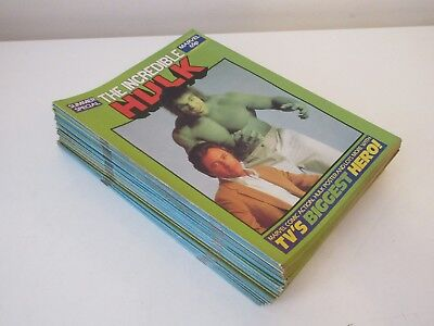 THE INCREDIBLE HULK X 50,  MARVEL COMICS, SUMMER SPECIAL + free poster 1989,VF/F