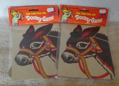New Pin The Tail On The Donkey Party Games 43.1cm x 43.6cm