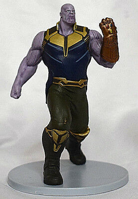 Disney Store THANOS Avengers INFINITY WAR FIGURINE Cake TOPPER Marvel Toy NEW