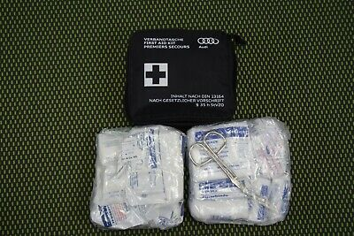 Original Audi Verbandtasche 8J7860282B Verbandskasten first aid bag 08/2022