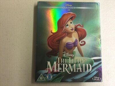 The Little Mermaid Disney - New, Sealed with Cover