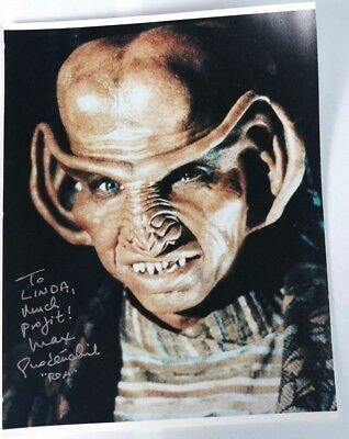Max Grodénchik Genuine Autograph signed 8x10 Rom  Star Trek Deep Space Nine DS9