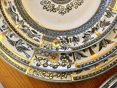 Antique Aesthetic Movement Dinner Service Kyoto By Bates Gildea & Walker 1880