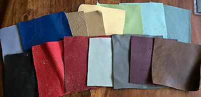 LEATHER REPAIR PATCHES - small 2 x 2 inches (2 pieces)