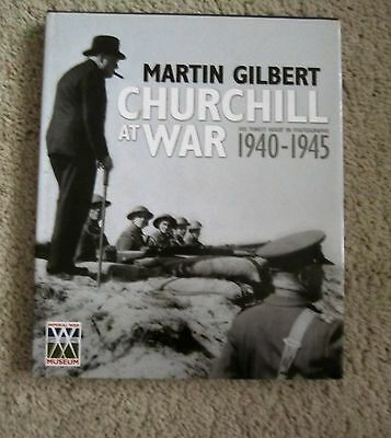 Churchill At War.by Martin Gilbert. Free Postage to U K only.