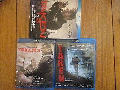 Taken 1 & 2 L'intégrale de la Saga Evenement ~~ Blu-Ray 2 CD Dont 1 Neuf Blister