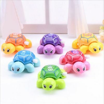 Tortoise Crawling Wind Up Toy Small Turtles Educational Toys For Baby Kids