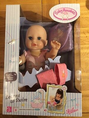 Zapf Creation  Baby Annabell Learn to Swim Doll (BNIB) A20