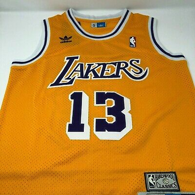 f000d8bd5b7 Wilt Chamberlain Los Angeles Lakers Adidas Swingman Throwback Stitched  Jersey
