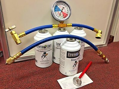 Enviro-Safe Modern Refrigerant, Vehicle A/C Kit, R12/R134a Replacement
