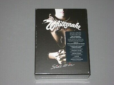 WHITESNAKE Slide It In (2019 Remaster) Super Deluxe Box 6 CD / 1 DVD New Sealed