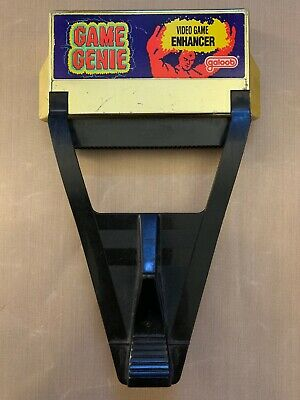 Nes Nintendo Game Genie Tested Working Video Game Accessory