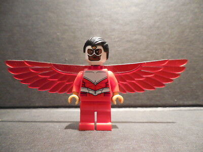 LEGO falcon Super Heroes Avengers MiniFigure From Set 76018 new