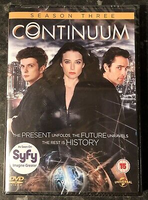 Continuum Complete Season 3 (3-Disc Dvd Set Brand New & Sealed Mint Free Post
