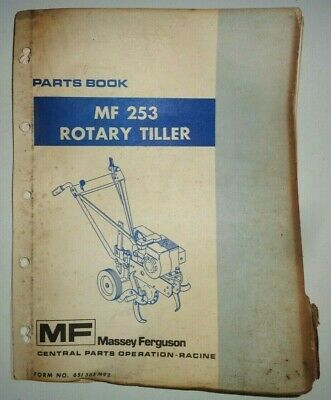 Original Massey Ferguson 738 Tiller Instruction Book 819022m1 Manual Massey Ferguson Business, Office & Industrial