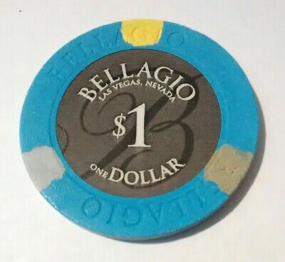 Bellagio Hotel Casino Las Vegas, Nevada $1.00 Chip Great For Any Collection!