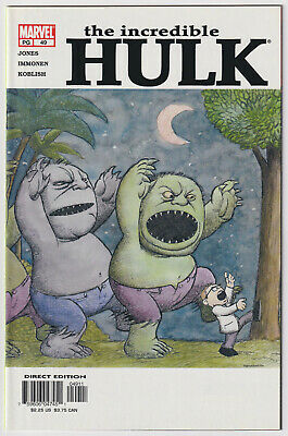 INCREDIBLE HULK #49 | Vol. 2 | Where The Wild Things Are Homage | 2003 | NM-