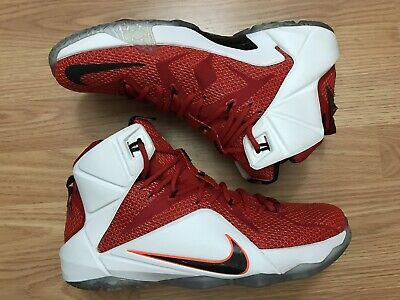 finest selection 19bc3 26a74 Nike Lebron XII 12 Heart Of A Lion Basketball Sneakers Men s Size 10