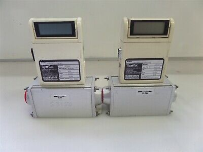 Lot of 2 Sierra Top Track 826-0V1-PV1-V1 Mass Flow Controllers Air 0-80 SLPM