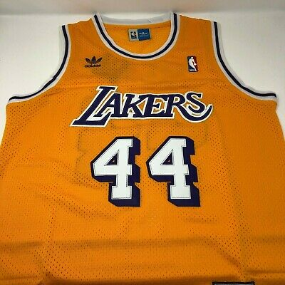 63527fe208b Jerry West Los Angeles Lakers Adidas Swingman Throwback Stitched Jersey